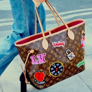 Le Patches Neverfull MM